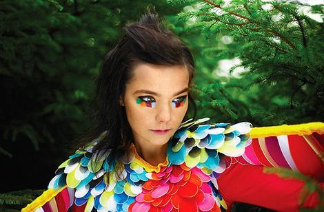 Björk, chanteuse de malade sisi Bjork